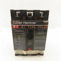 Cutler Hammer FS340040 Type FS 40A 480V 3 Pole Circuit Breaker