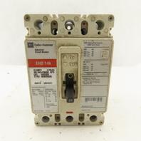 Cutler Hammer EHD3020 20 Amp Circuit Breaker 480VAC 250VDC 3 Pole
