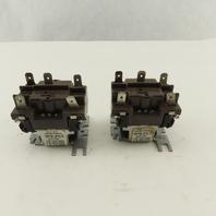 Honeywell R8222B 1000 24V 50/60Hz Furnace Relay Coil Lot Of 2