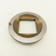 2.000 +.030 Square Hole Die CNC Turret Punch For 4.250 Holder