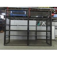 """Custom Heavy Duty Tooling/Die/Mold Bulk Storage Rack W/Doors 176""""w x36""""x132"""""""