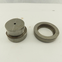 2.250 + .010 Round Hole Die CNC Turret Punch Shank 2.750 Lot Of 2