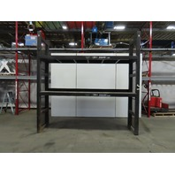 "Custom Heavy Duty Tooling/Die/Mold Bulk Storage Rack  131""x31""x127-1/2"""