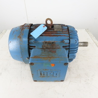 WEG 15HP Hazardous Location Electric Motor 208-230/460V 3Ph 254T Frame 3520RPM