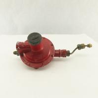 "Rago LV4403TR4 1/2"" NPT LP Gas Regulator 5PSIG"