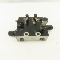 Compact Controls CP10196 Aluminum Block Hydraulic Manifold