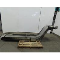"""Magnetic Chip Conveyor 18"""" Belt 29"""" Discharge 74x16"""" Intake 25FPM 208-230/460V"""