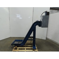 "Incline Chip Conveyor 12"" Belt 4FPM 18""x16"" Intake 42"" Disch. 208-230/480V 3Ph"