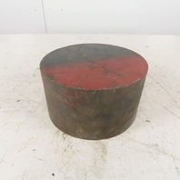 """4140 AS Hot Rolled Heat Treated Round Bar Stock  8"""" Diameter x 4-1/2"""" long"""