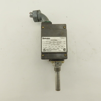 Barksdale ML1H-GH354S Local Mount Temperature  Switch SINGLE Setpoint 100-350°F