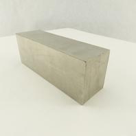 "2 X 2-1/4""  Flat Bar Stock 304 Stainless Steel 6"" Long"