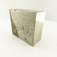 "2 X 4 Flat Bar Stock 304 Stainless Steel 4-1/4"" Long"
