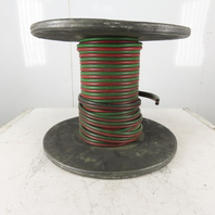 """Goodyear Grade T 135' Welding Fuel Gas Hose Two Lines Green/Red 1/4"""" ID"""