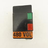 NHD MS1-12D 5HP 480V 3PH Motor Starter START STOP 14-17A Overload 480V Coil