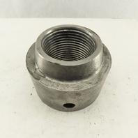 Column Shaft Round Carbon Steel Nut 3-1/2-4 Thread