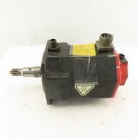 Fanuc A06B-0223-B605 Servo Motor W/Brake 4000 RPM 138V 3Ph