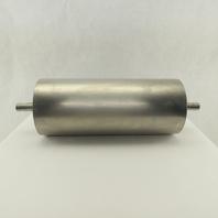 "6-3/4"" OD 16"" Face Stainless Steel Conveyor Drum Roller Pulley W/Bearings"