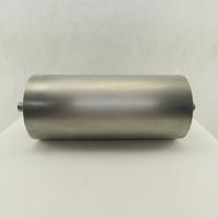 "6-3/4"" OD 15"" Face Stainless Steel Conveyor Drum Roller Pulley W/Bearings"