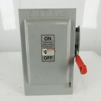 GLASTIC HNF362 60-Amp 3 Pole 600v 3 Wire Non-Fused Disconnect Safety Switch