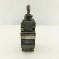 Square D C62B2 Ser A Class 9007 Limit Switch W/Plunger