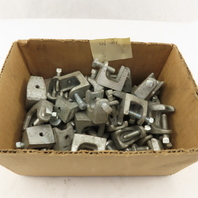 """3/4"""" Malleable Iron Beam Clamp 1/4-20 Threaded Hole Mixed  Lot of 40"""