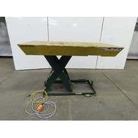 "Southworth LS2-36 2000Lb Hydraulic Scissor Lift 72""x 36"" Table 115V Single Phase"