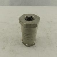 "Generant CV-506SS-T-8 1/2"" NPT Stainless Steel Check Valve 4500PSI Max"