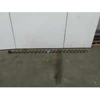 "Centerless Conveyor Auger Screw 4"" Carbon Steel Diameter x 6"" Pitch x 114"" Long"