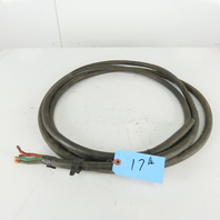 Royal 8-4 Type SOOW 600V Grounded 4 Conductor Cable 17'