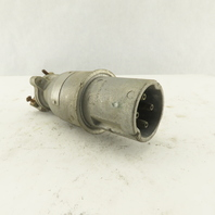 Russell Stoll JP334H Saf-T-Arc 30A 4 Pin Male 600V 250VDC Safety Plug Connector