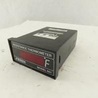 Omega Model 651 120V Resistance Thermometer Type 385 Input