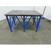 "1"" Blanchard Ground Steel Fabrication Layout Welding Table Machine Base 44""x29"""