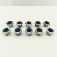 "3/4"" Trade Rigid/Intermediate (IMC) Conduit Nipple Steel Insulated Lot of 10"