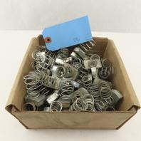 "Steel Strut Unistrut Channel Spring Nut Galvanized 3/8""-16 Thread Lot of 89"