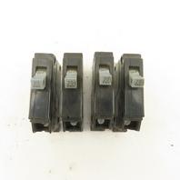 Cutler Hammer Class CTL Type CHB 20A 120/240V 1 Pole Circuit Breaker Lot Of 4