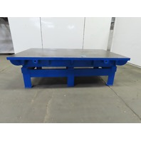 """Cast Iron 2"""" Thick Web Top Layout Inspection Work Welding Table Bench 86x54x29"""""""