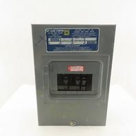 Square D Q06-12L100 100A Load Center 120/240V 1Ph 3W