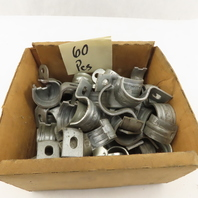 """3/4"""" EMT Conduit Strap One Hole Rigid Pipe Clamp Lot of 60"""
