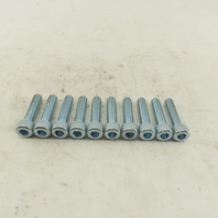 M8-1.25 x 35mm Long Socket Head Cap Screw SHCS Lot Of 10