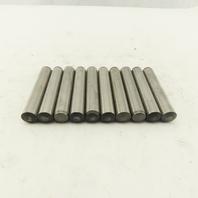 12mm X 70mm Hardened Steel Dowel Pin Lot Of 10