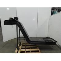 "Jordan JD 168 Incline Chip Conveyor 13"" Belt 20""x20"" Intake 46"" Dis. Ht 230 3FPM"