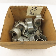 """Minerallac H60 Jiffy Clip H60 1-Hole Heavy Duty 1"""" Conduit Strap Lot of 25"""