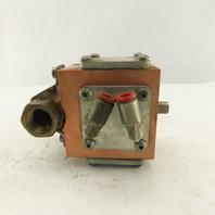 "Gemini A90BD-R 1/2"" Pneumatic Actuator Controlled Brass Ball Valve"