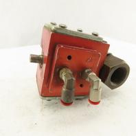 "Gemini A90BD-R 3/4"" Pneumatic Actuator Controlled Brass Ball Valve"