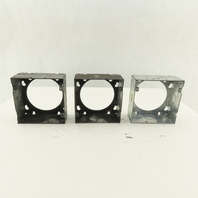 """Thomas & Betts Steel City 73171 4-11/16"""" Square Extension Ring 1/2 3/4 Lot of 3"""