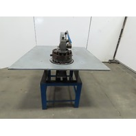 Rotex 18A 20W/S Manual Hand Operated Turret Punch Sheetmetal Hole Punching