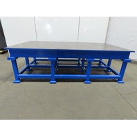"""1"""" Thick Web Top Layout Inspection Work Welding Table Bench 108""""x60""""x32"""""""