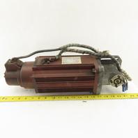 Yaskawa USASEM-18YRW11 AC Servo Motor 2000 RPM 1.54kW Encoder