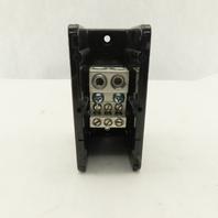 Square D 9080 LBA163206 Power Distribution Block 1 Pole 2 Line 6 Load 600V 350A
