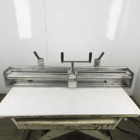 "Flexco Clipper 48"" Conveyor Belt Stitching Splicing Roller Lacing  Machine"